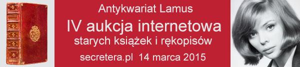 Zapraszamy na IV Aukcję Internetową