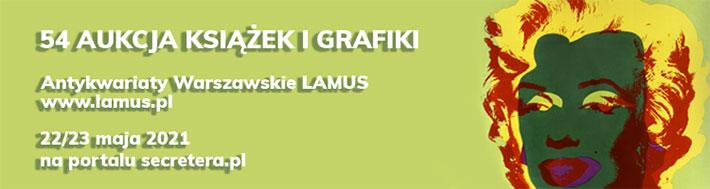 54 Aukcja Książek i Grafiki